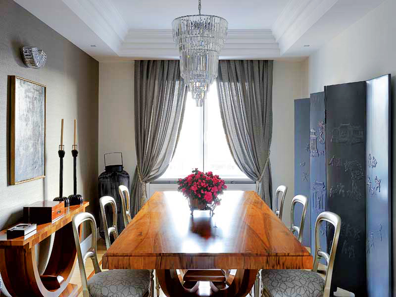 Dining Room Curtains Formal Window Treatments Drapes