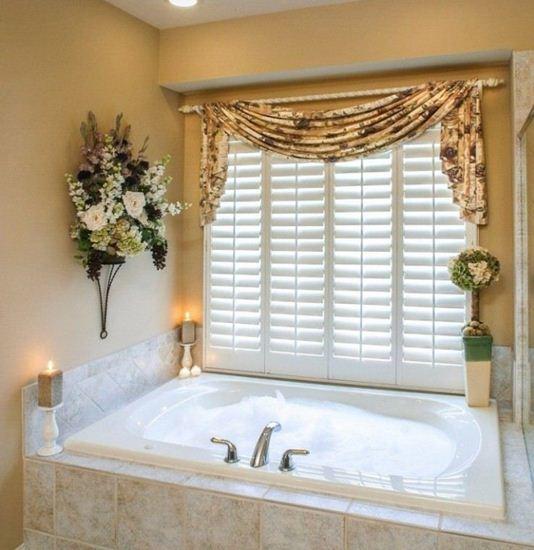 Picture of Drapery Bathroom D4BA0005