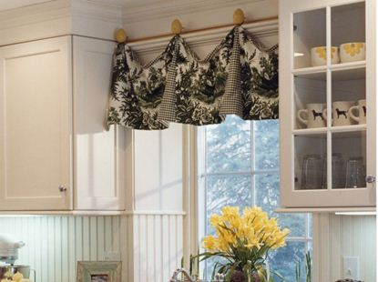 drapery for kitchen