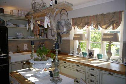 Drapery Kitchen
