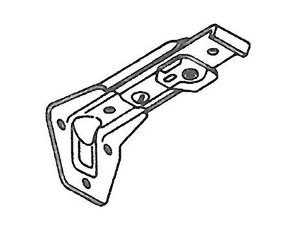 """Picture of 3 1/2""""-4 1/2"""" Superfine Support For Traverse Curtain Rods"""