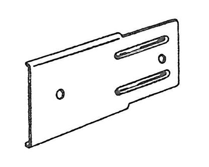 """Picture of 2"""" Bracket Extension Plate For Push-In Brackets"""
