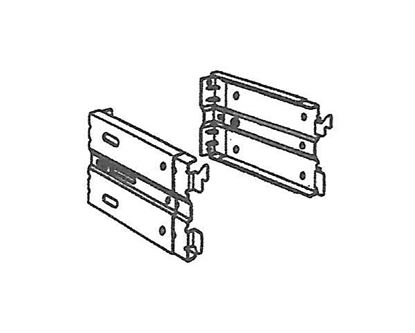 "Picture of Continental I Adjustable Clearance Bracket, Adjustable Clearance 7 1/2"" To 4 1/4"""